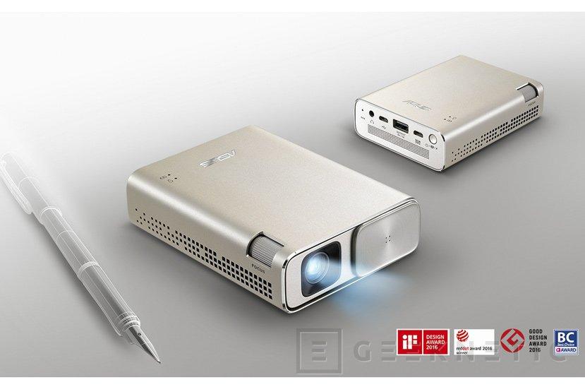 ASUS ZenBeam Go E1Z, el picoproyector con más brillo del mercado, Imagen 1