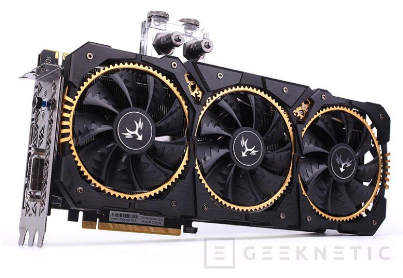 La Colorful GTX 1080 Ti Kudan tiene tres ventiladores y un sistema de refrigeración líquida a la vez, Imagen 1