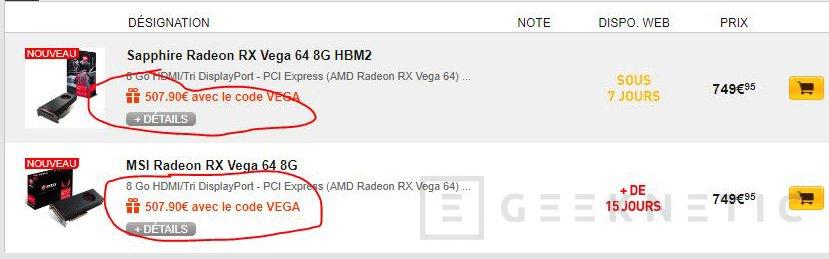 ¿Por qué la AMD RX Vega 64 no puede comprarse por menos de 600 euros?, Imagen 2