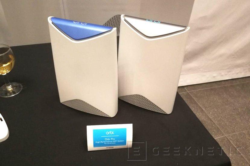 Netgear Orbi Pro, un sistema de red WiFi 802.11ac 3.000 Mbps para PyMEs, Imagen 1