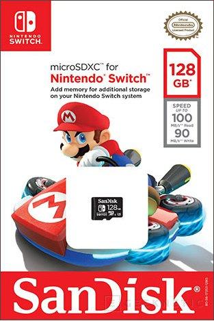 Sandisk prepara tarjetas de memoria microSD certificadas para la Nintendo Switch, Imagen 1