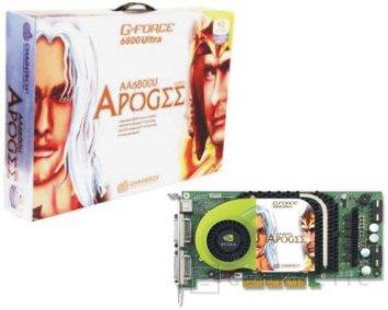Chaintech GeForce 6800 Ultra APOGEE AA6800U, Imagen 1
