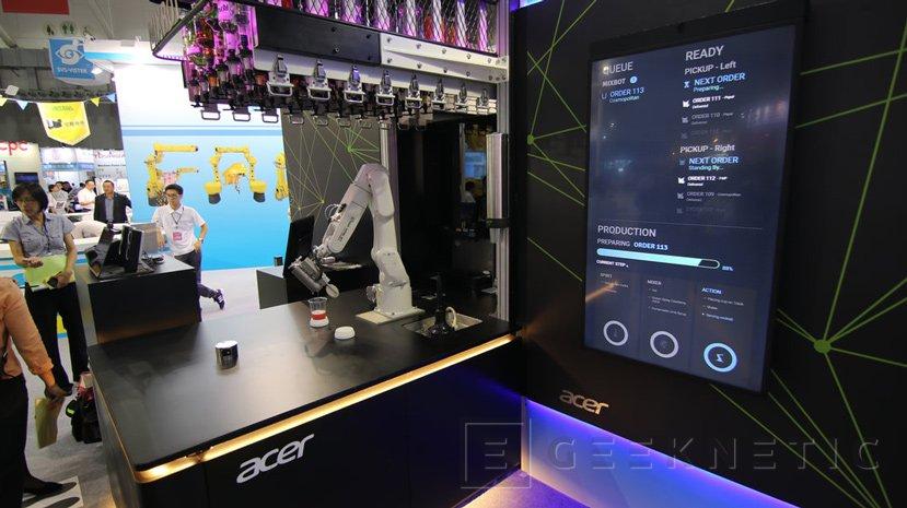 Lo último de ACER es un robot que te preparará y servirá tu cóctel favorito, Imagen 2