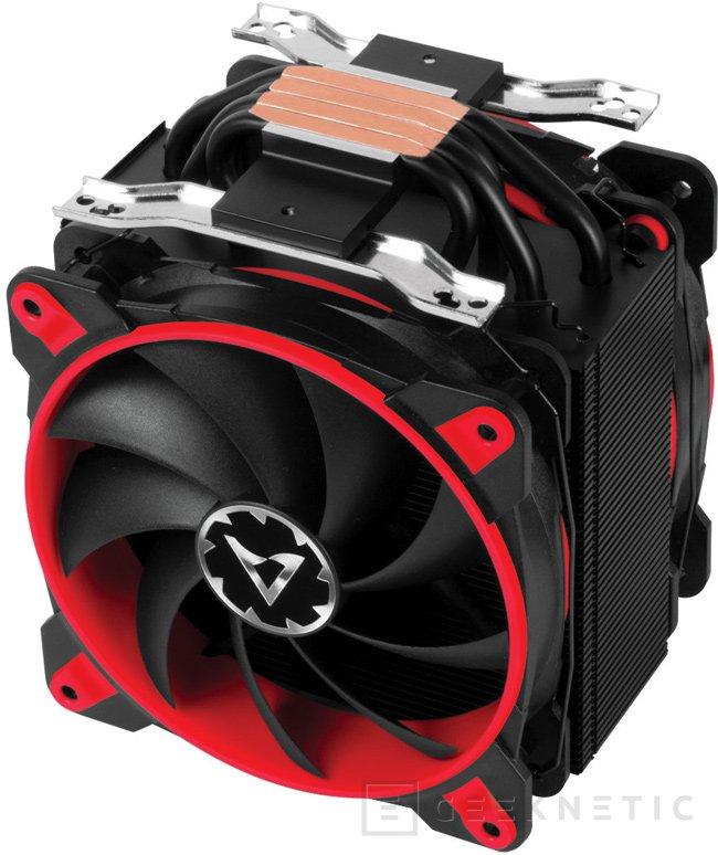 Arctic estrena sus nuevos ventiladores BioniX en el disipadorFreezer 33 eSports Edition, Imagen 1