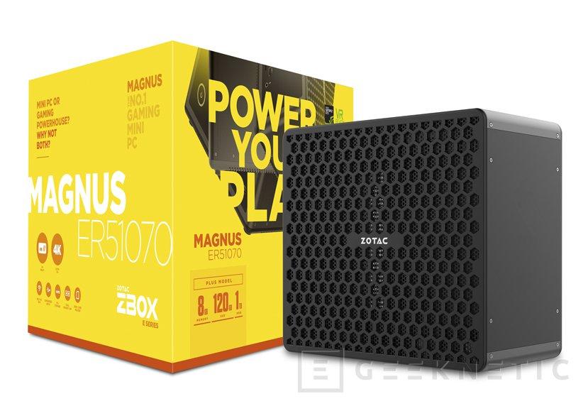ZOTAC añade GTX 1060 y GTX 1070 de sobremesa a sus miniPC ZBOX MAGNUS, Imagen 2