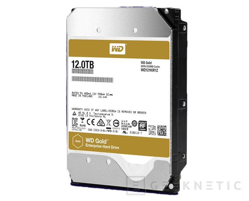 La gama de discos WD Gold para empresas alcanza los 12 TB, Imagen 1