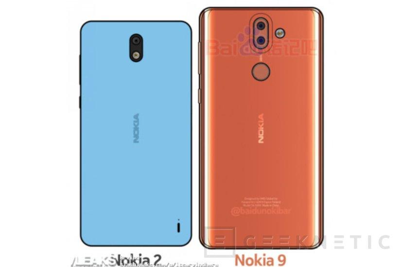Filtrado el diseño de los Nokia 9 y Nokia 2, Imagen 1
