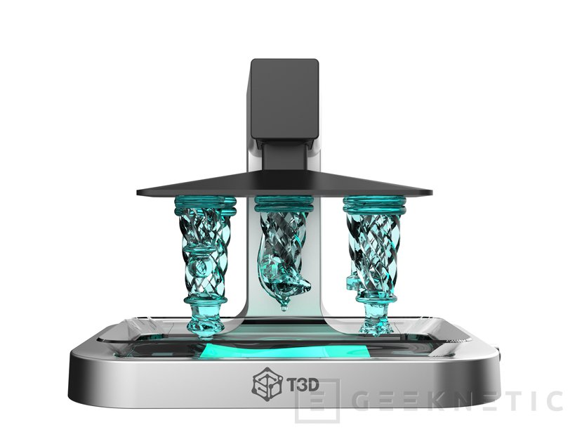 La impresora 3D T3D imprime utilizando la luz de tu smartphone, Imagen 1