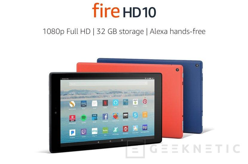 Amazon actualiza su tablet Fire HD 10 con más potencia, batería y mejor pantalla, Imagen 1