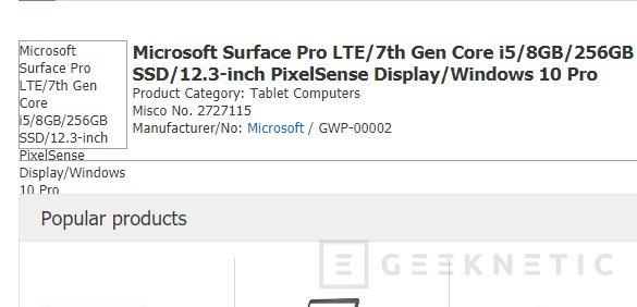 Habrá una Surface Pro con LTE en diciembre, Imagen 1