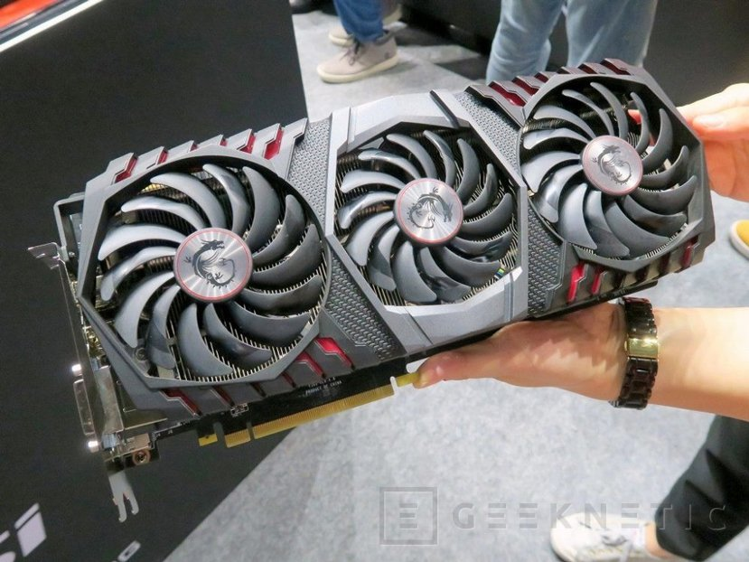 Se deja ver la MSI GeForce GTX 1080 Ti Gaming X Trio, Imagen 1
