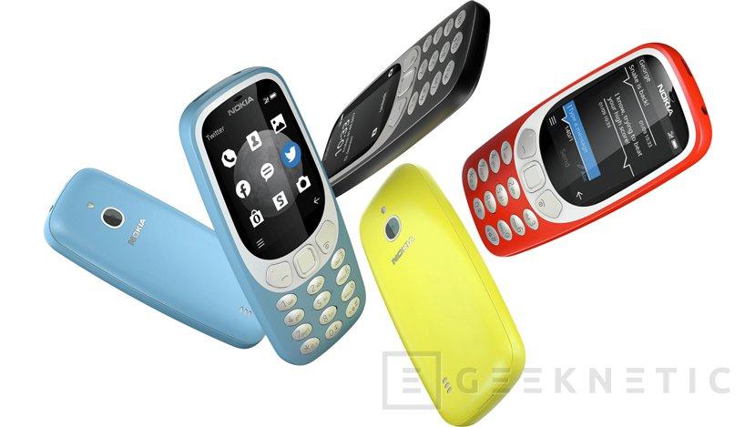 HMD añade 3G a la reedición del mítico Nokia 3310, Imagen 1