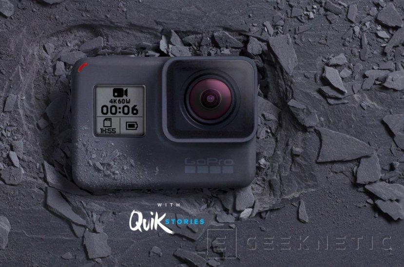 La GoPro Hero 6 añade grabación 4K a 60 FPS, Imagen 1