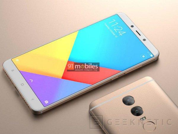Primeros renders del Xiaomi Redmi Note 5, Imagen 1