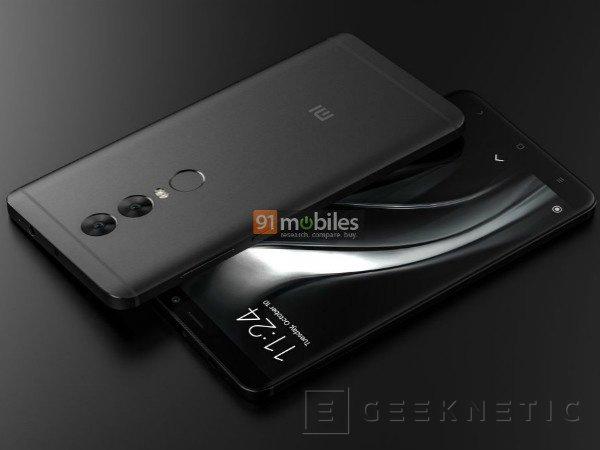 Primeros renders del Xiaomi Redmi Note 5, Imagen 2