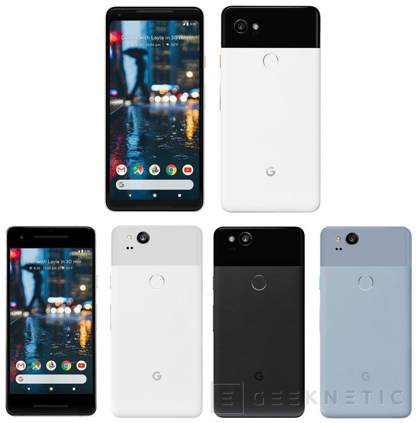 Filtrados los Pixel 2 de Google con Snapdragon 836, Imagen 1