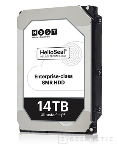 El primer disco duro de 14 TB ya está aquí de la mano de Western Digital, Imagen 1