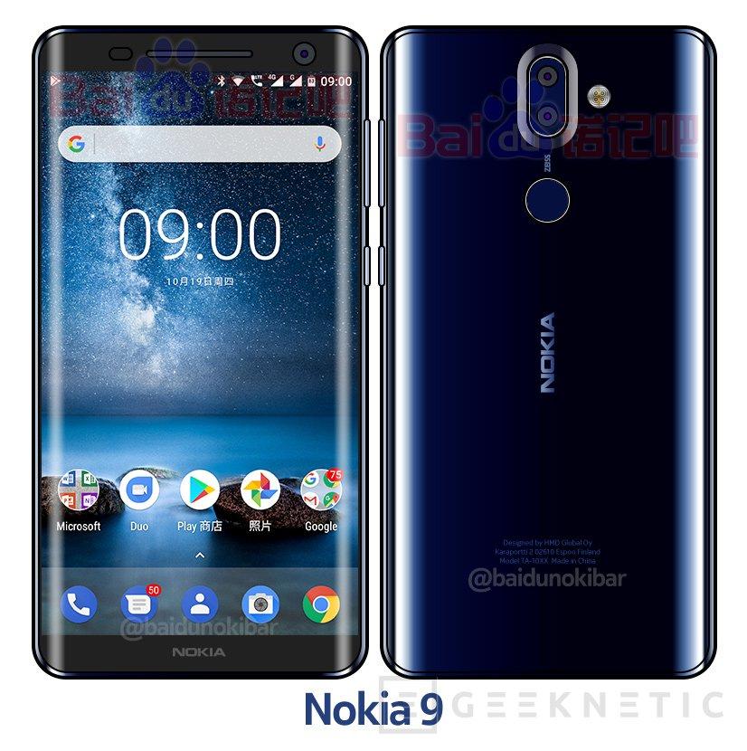 El Nokia 9 tendrá pantalla curva, Imagen 1