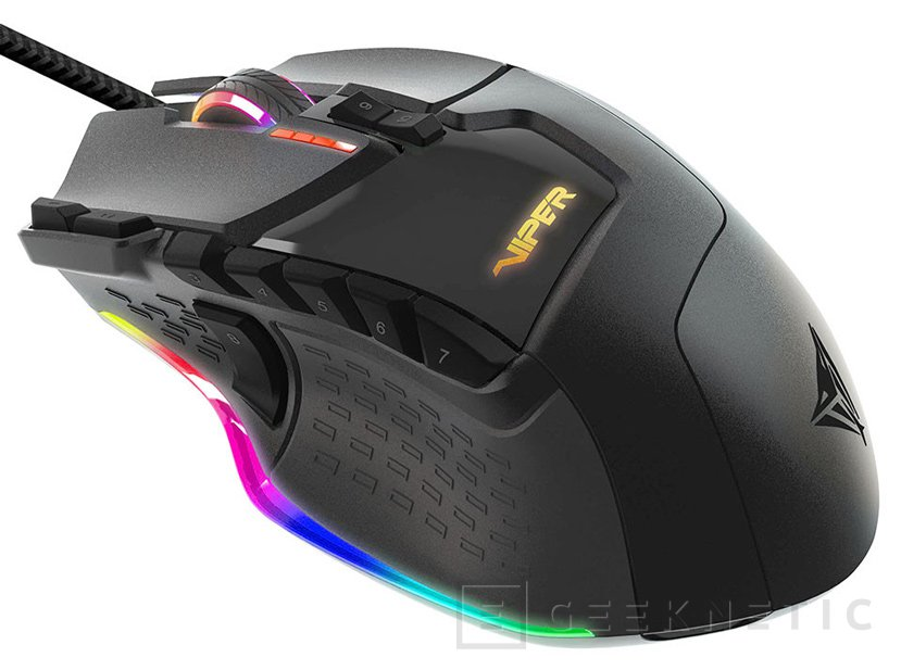 Patriot presenta su ratón gaming Viper V570 RGB Blackout, Imagen 1