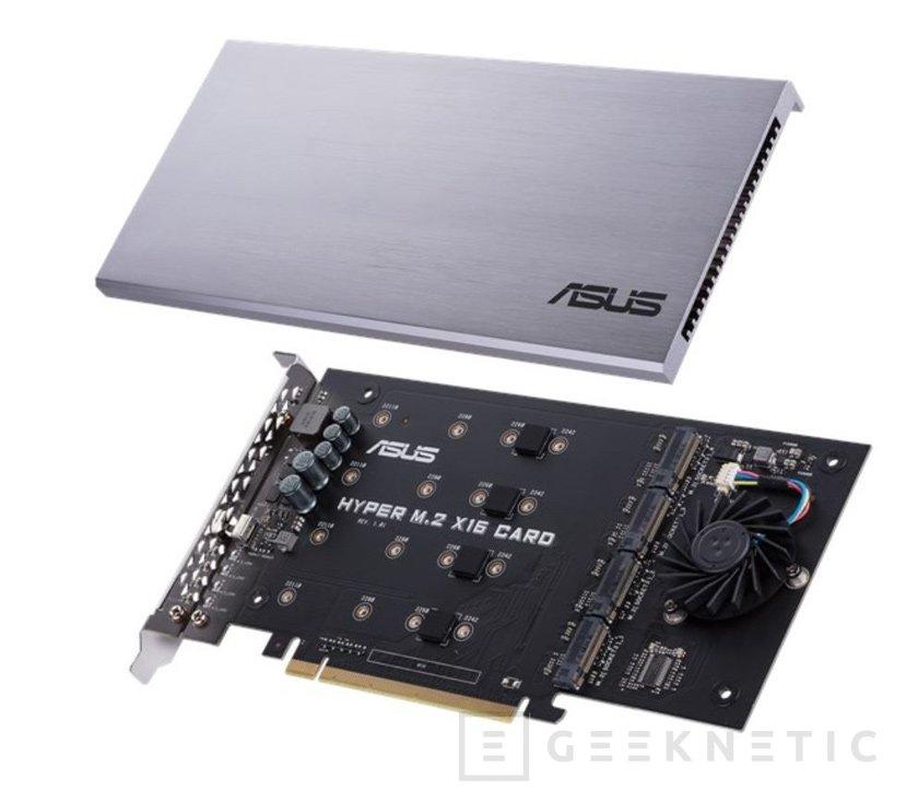 La tarjeta ASUS Hyper M.2  añade 4 puertos M.2 de 32GB/s, Imagen 1