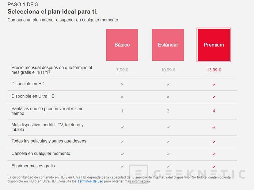 Netflix eleva los precios de sus planes en España, Imagen 1