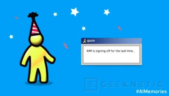 AIM Messenger dirá adiós en diciembre tras 20 años de servicio, Imagen 1