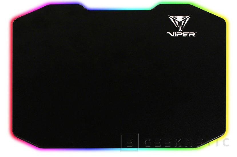Patriot lanza una alfombrilla con iluminación LED multicolor, Imagen 1