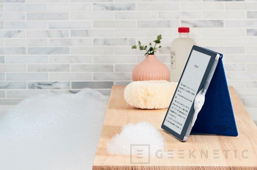 Amazon hace sumergible su e-reader Kindle Oasis, Imagen 2
