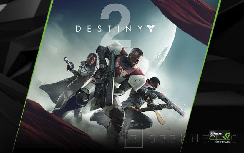 NVIDIA regalará Destiny 2 por la compra de gráficas o equipos basados en la GTX 1080 y 1080 Ti, Imagen 1