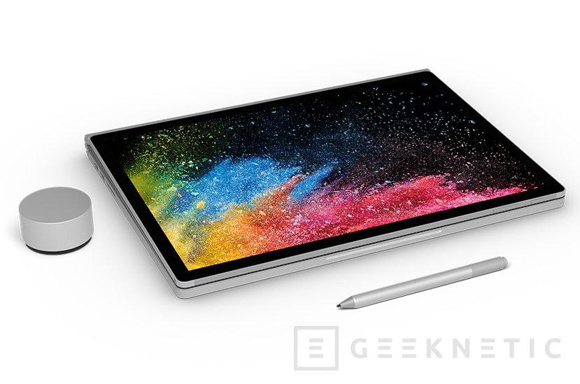 Surface Book 2, el portátil más potente de Microsoft hasta la fecha, Imagen 2