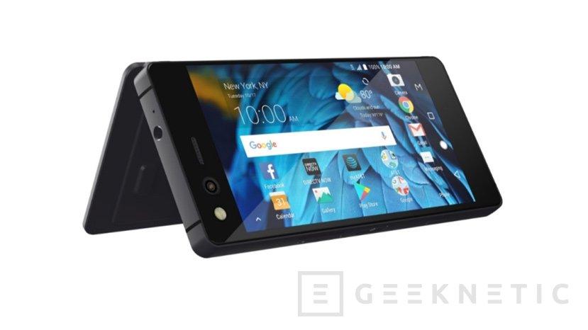ZTE sorprende con un móvil con doble pantalla plegable, Imagen 1