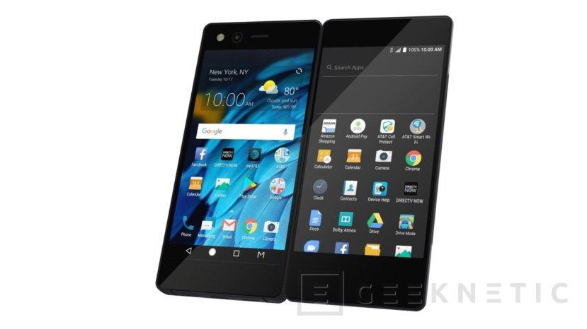 ZTE sorprende con un móvil con doble pantalla plegable, Imagen 2
