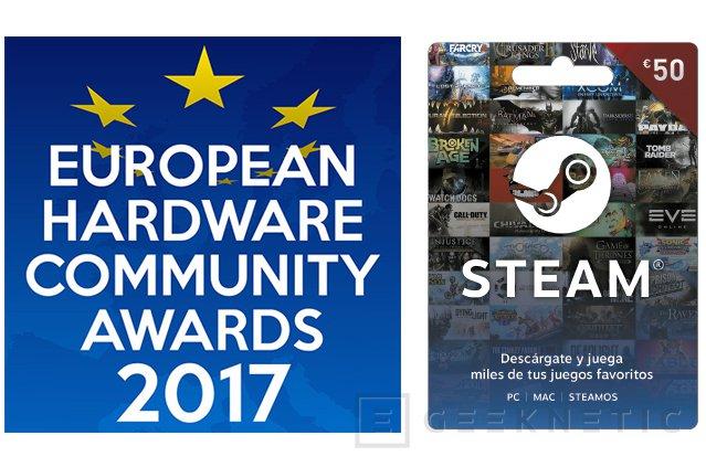 Vota a los ganadores de los Premios GEEKNETIC 2017, sorteamos 150€ en vales de STEAM, Imagen 1