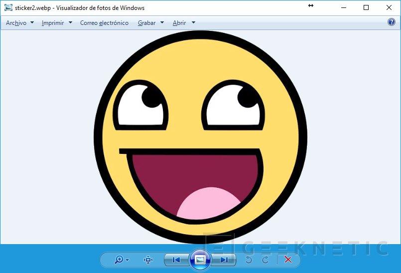 Cómo abrir imágenes WebP desde Windows, Imagen 2