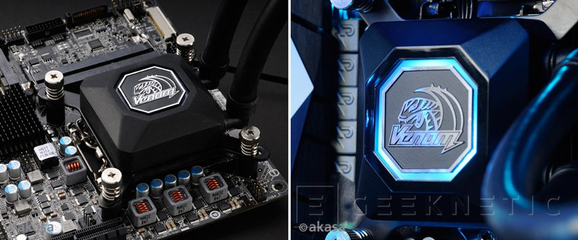 Akasa lanza dos refrigeraciones líquidas AiO con RGB, Imagen 1