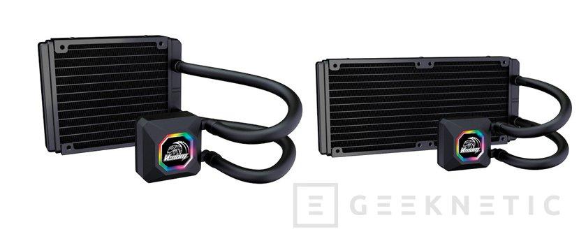 Akasa lanza dos refrigeraciones líquidas AiO con RGB, Imagen 2
