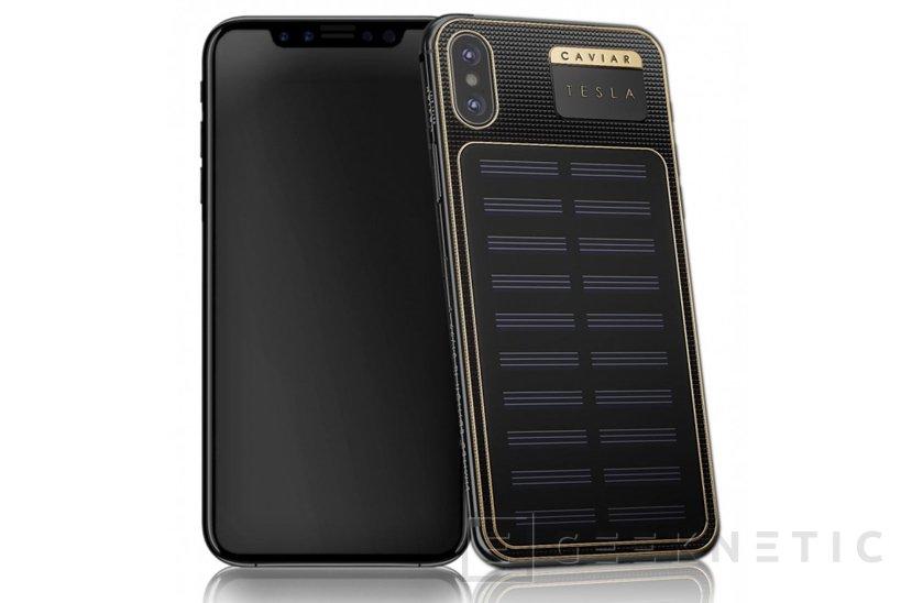 Con esta funda podrás cargar tu iPhone X con energía solar, Imagen 1
