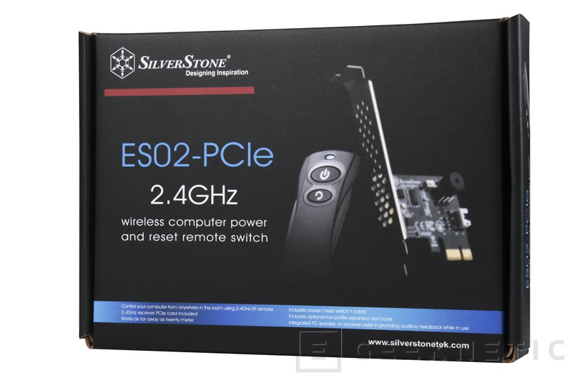 SilverStone ES02-PCIe, un mando a distancia para apagar y encender el PC, Imagen 2