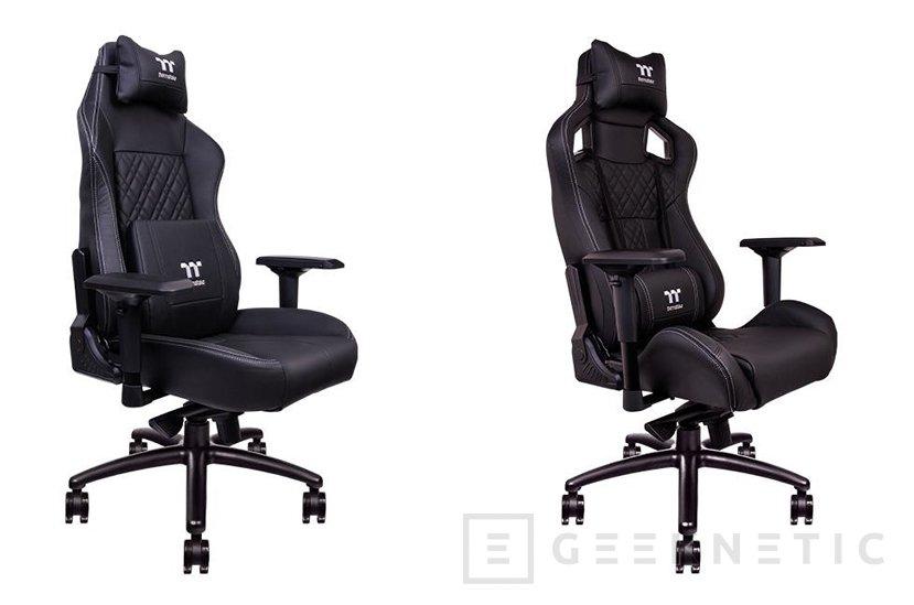Thermaltake utiliza cuero real en sus últimas sillas gaming, Imagen 1