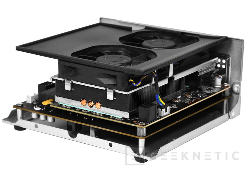 KFA integra una GTX1060 en una carcasa externa Thunderbolt 3, Imagen 2