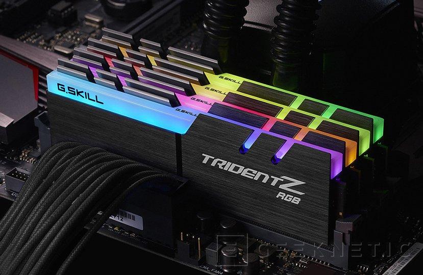 Las nuevas DDR4 Trident Z RGB de G.SKILL funcionan a 4.266 MHz con latencias CL17, Imagen 1