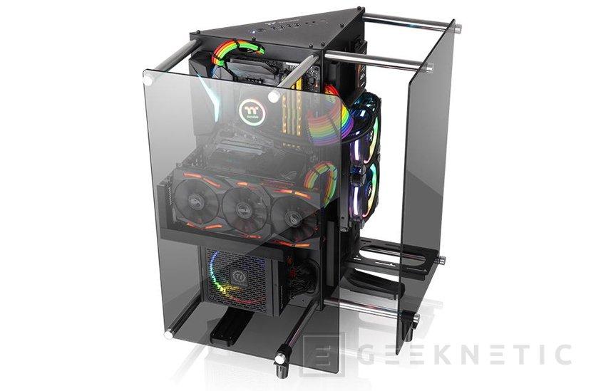Thermaltake anuncia su torre Core P90 con cristal templado y triple compartimento , Imagen 2