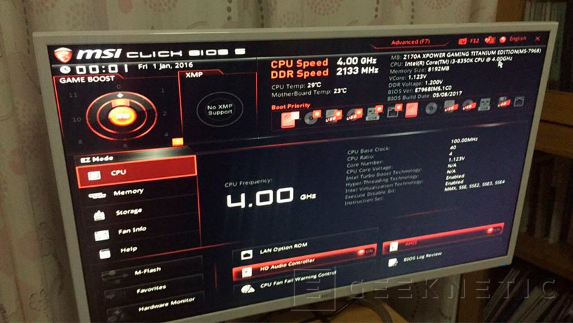 Consiguen hacer funcionar un Core i3-8350K en una placa Z170, Imagen 1