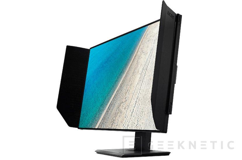 El monitor profesional 4K ACER PE320QK cubre el 130% de la gama sRGB, Imagen 1