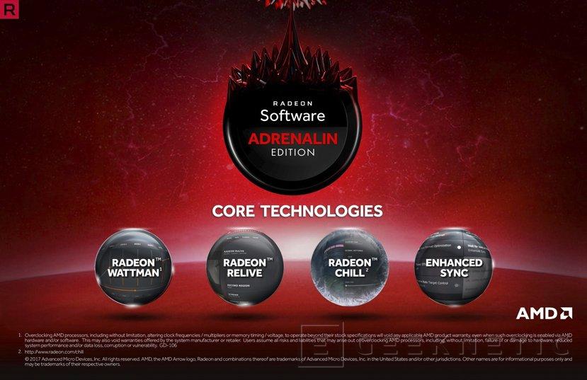 Drivers AMD Radeon Software Adrenalin 17.12.2 Beta con corrección de errores, Imagen 1