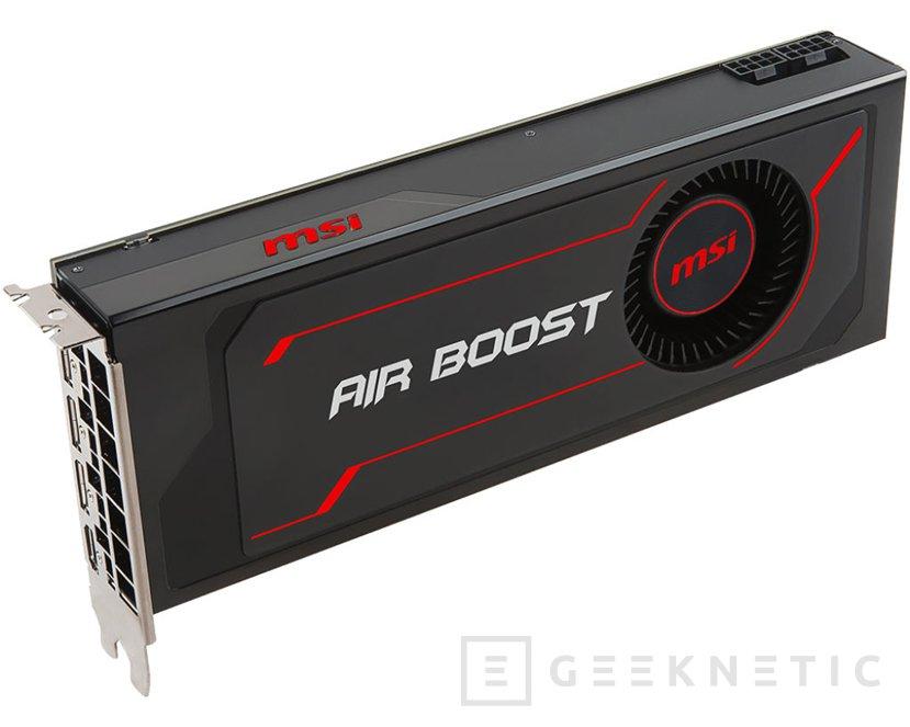 MSI Radeon RX Vega 64 Air Boost con overclock de serie, Imagen 1
