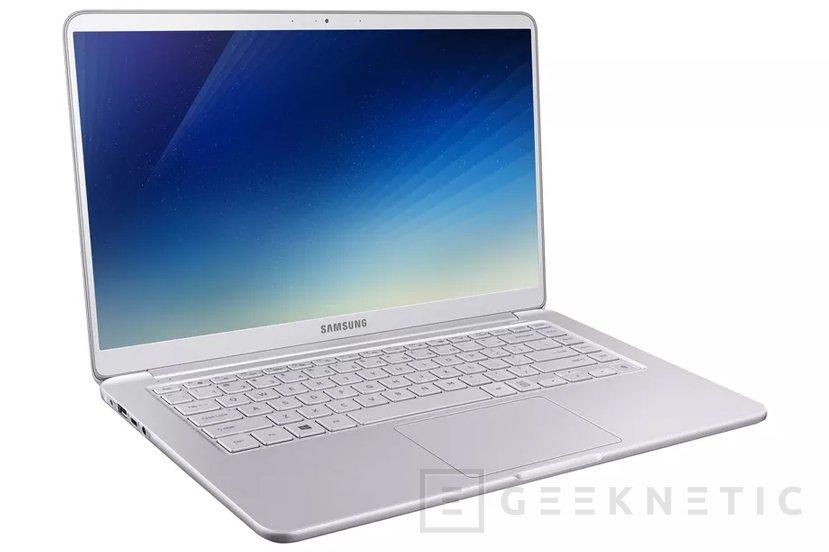 Samsung adopta los Intel Core de 8ª generación en sus Notebook 9, Imagen 2