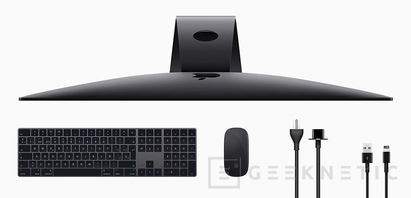 Nuevo Apple iMac Pro con CPU de 18 núcleos y GPU Radeon Pro Vega, Imagen 2