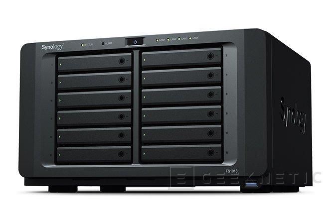 El NAS Synology FlashStation FS1018 se olvida de los discos duros mecánicos, Imagen 1