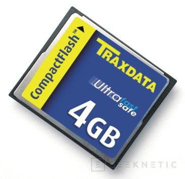 Traxdata presenta su Compact Flash de 8 Gb, Imagen 1